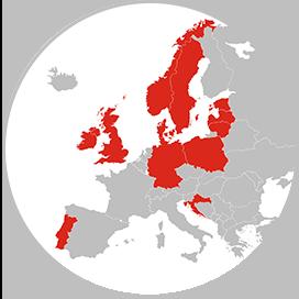 adecco International recruitment europe map