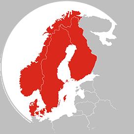 Adecco helse skandinavia kart